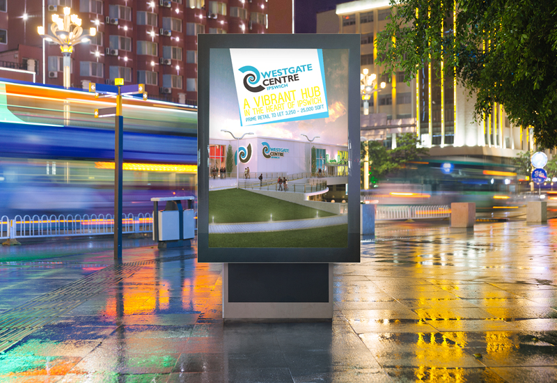 Westgate Retail Presenter Outdoor