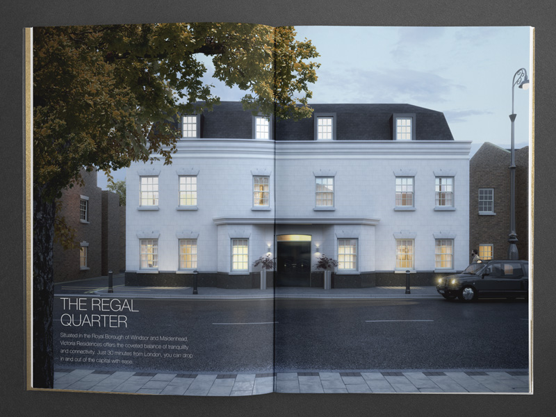 bespoke property brochure architectural visualisation