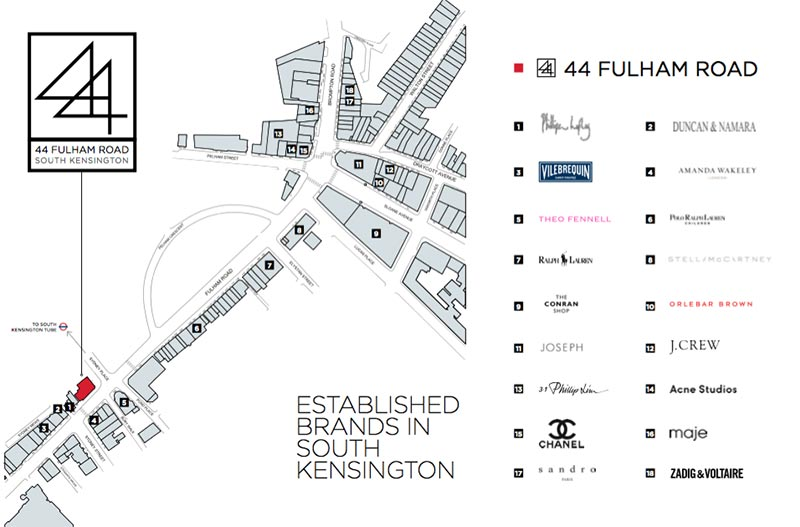 location map fulham road commercial presenter document savills